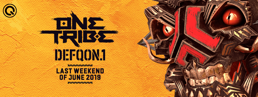 Defqon.1 2019 One Tribe Poster